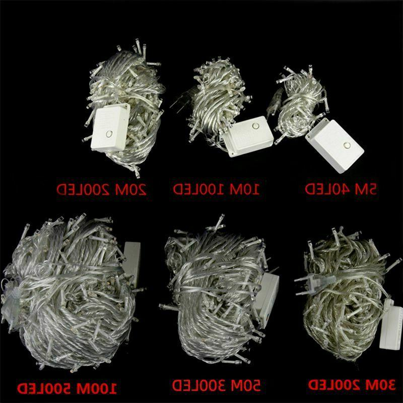 Outdoor Christmas lights string 100M 20M 10M 5M Holiday