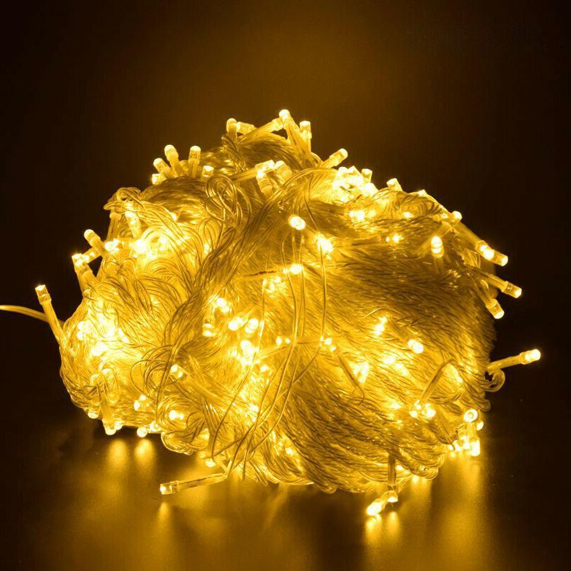 outdoor christmas lights led string 100m 20m