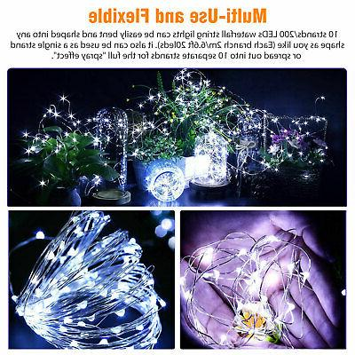Outdoor LED Lights Waterfall Icicle Lights Party