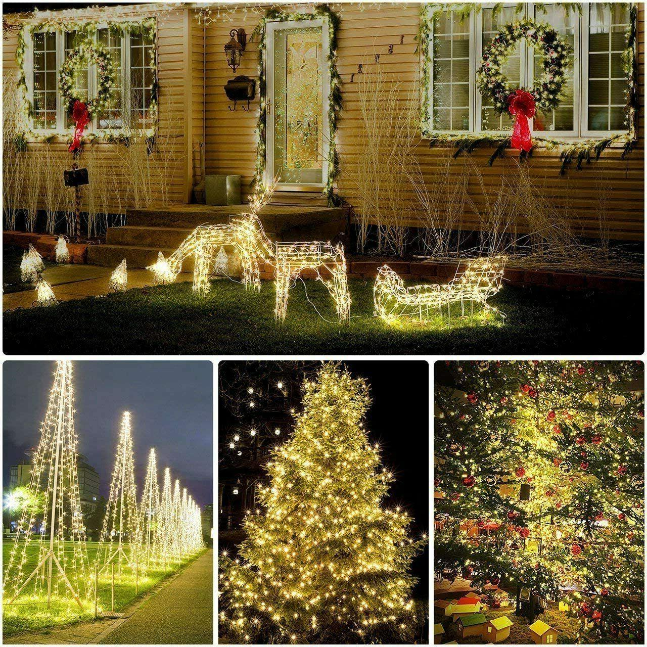 Outdoor LED Waterproof Wire Xmas