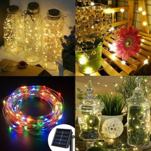 Outdoor Waterproof 5M10M LED Copper Wire Light String
