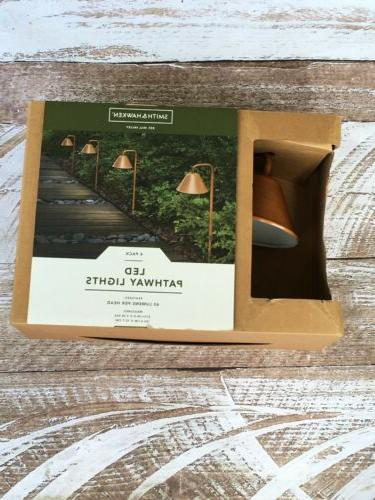smith and hawken led outdoor path lights