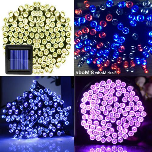 Solar String Lights Party Christmas