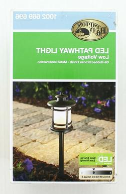 Hampton Bay Landscape Path Light Outdoor Integrated LED Oil