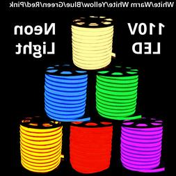 LED Flexible Neon Rope Light Room Party Commercial Lighting
