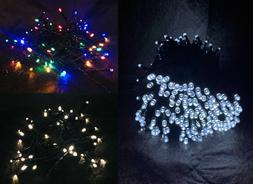 LED String Fairy Lights - Outdoor Battery Powered with Timer