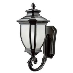 Kichler Outdoor Light, Utilitarian Post w/ Photo Cell and La