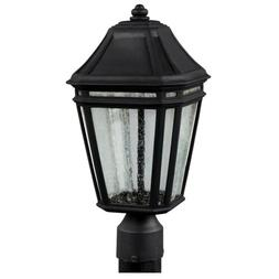 londontowne led outdoor post black ol11307bk led