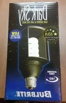 LOT OF 2 NEW Bulbrite Long Life 60W Output 15W Dark Sky CFL