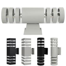 Modern LED Up Down Wall Light Sconce Dual Head Lamp Fixtures