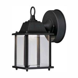 NIB!! Hampton Bay Black Outdoor Integrated LED Wall Mount La