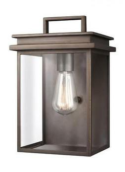 Feiss Lighting OL13601ANBZ Glenview Outdoor Wall Light, Anti