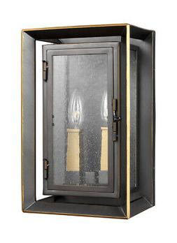 "Feiss OL13801 Urbandale 2 Light 13"" Tall Outdoor Wall Sconce"