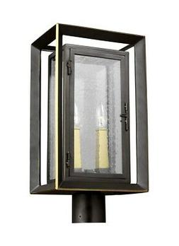 ol13807anbz pbb urbandale two light outdoor post
