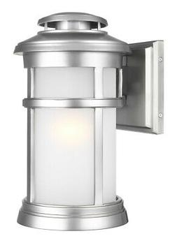 Feiss OL14301PBS Newport Outdoor Wall Light Painted Brushed