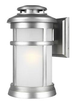 Feiss OL14302PBS Newport Outdoor Wall Light Painted Brushed
