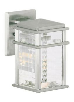 Feiss OL3400BRAL Mission Lodge 1- Light Wall Lantern in Brus