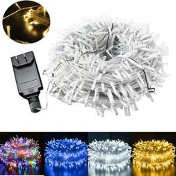 Outdoor Fairy String Lights 100-500LEDs Waterproof Christmas