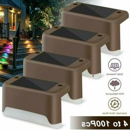 Outdoor Solar LED Deck Lights Path Garden Patio Pathway Stai