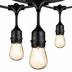 Outdoor String Lights Edison Vintage Commercial Grade Lights