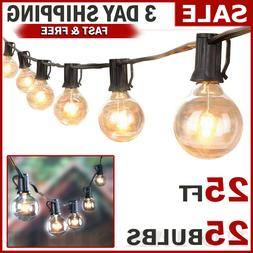 Outdoor String Lights Patio Yard Garden Lighting Waterproof