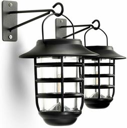 Home Zone Security Outdoor Wall & Porch Lights,Lantern Style