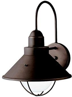 Seaside Outdoor Wall Lantern in Olde Bronze