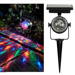 Solar Garden Party Lights Outdoor Landscape Path Yard Rotati