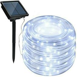 Solar led Rope Strip Fairy Waterproof Outdoor Holiday garden