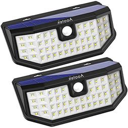 New Upgraded 48 LED Solar Lights with Wide Angle Illuminatio