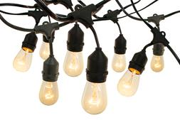 Vintage Edison Light Bulbs Hanging String Cord Set Incandesc