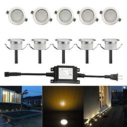 FVTLED Low Voltage LED Deck Light Waterproof Outdoor Garden