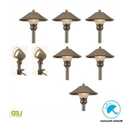 LED OUTDOOR LOW VOLTAGE PATH WALKWAY GARDEN LANDSCAPE LIGHTI