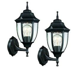 Outdoor Wall Lantern Patio Porch Carriage Light Weather Resi