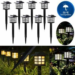 Waterproof Solar Pathway Lights Outdoor Garden Lamp Landscap