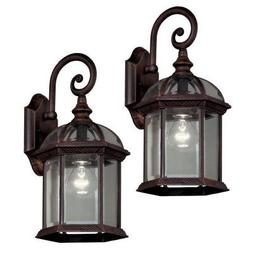 Outdoor Weathered Bronze Lantern