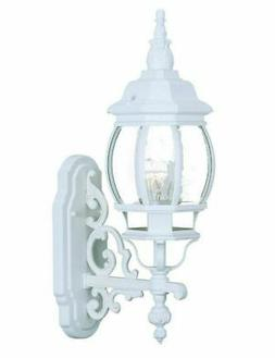 "White Acclaim Lighting 5150TW Chateau 1 Light 20"" Height Out"