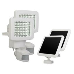 Sunforce White Twin Pack 80-LED Solar Motion Activated Outdo