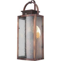 Craftmade ZA1512-WC-LED Hearth Outdoor Wall Light Weathered