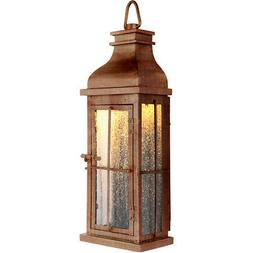 Craftmade ZA1802-WC-LED Vincent Outdoor Wall Light Weathered